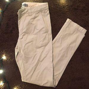 Men Slim Straight Pants // waist 30long 32